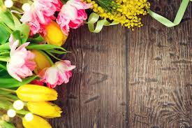 flowers for s day background s day wooden backdrop
