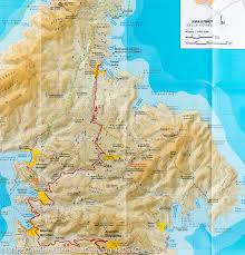 Map Of Greece Islands by Hiking Map Of Kythnos Island Greece Terrain Cartography