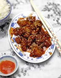 cuisine chinoise facile poulet caramel au sésame 30 minutes recette chinoise facile