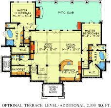 dual master suites 15800ge architectural designs house plans