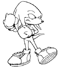 sonic the hedgehog jumping coloring page party themes