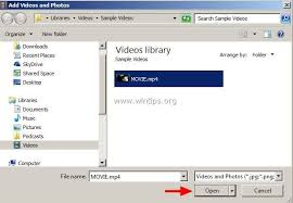 how to rotate u0026 save video in windows movie maker wintips org