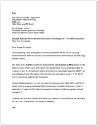 appeal letter sample appeal letter sample how to write an