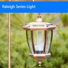4 pack raleigh series solar garden lights solar lights