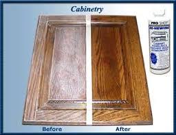 How To Clean Kitchen Cabinet Doors Pro Shot Cabinet Restorer Proshotcorporation Com