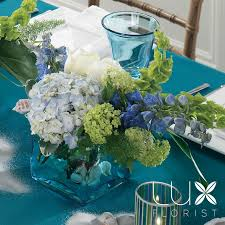 blue centerpieces blue centerpiece bw111 13 weddings wedding planner