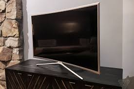 a review of my new samsung curved tv i it so much the verge