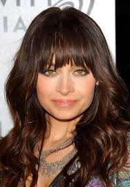 hairstyles for people with large head and jowls the best bangs for a square face shape hair world magazine