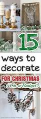 Inexpensive Christmas Decorations Best 25 Cheap Christmas Decorations Ideas On Pinterest Cheap