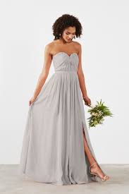 gray bridesmaid dress gray bridesmaid dresses charcoal bridesmaid gowns weddington way