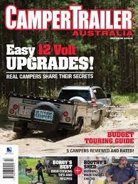 Diy Hard Floor Camper Trailer Plans Camper Trailer Australia April 2016 Pdf Recreational Vehicle
