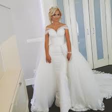wedding dress detachable train vosoi com