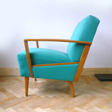 Small Leather Armchair Dining Room Small Beautifu Turquoise Vintage Leather Chair With