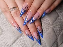 55 most beautiful acrylic nail paint design ideas