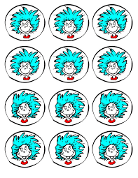 Thing One And Thing Two Party Decorations Thing 1 And Thing 2 Printable Clip Art Clip Art Library