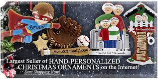 ornaments to personalize ornament shop personalized christmas ornaments