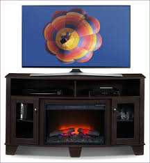 living room wonderful tv stand with electric fireplace lowes