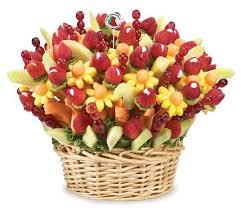 fruit flower baskets longhorn caribou vintage metallic fruit flower basket centerpiece
