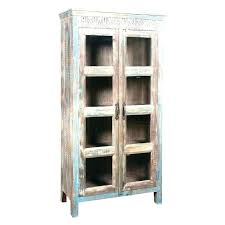 Distressed Wood Bar Cabinet Bar Cabinet Bikepool Co