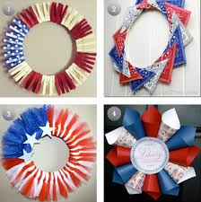 4th of july wreaths diy 4th of july wreaths the frugal