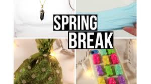spring break 2016 fun diy projects for spring break youtube