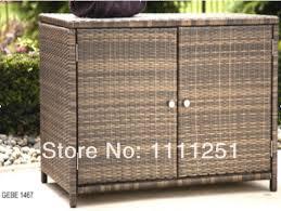 outdoor wicker storage cabinet 2014 outdoor towel rattan storage unit deck box storage cabinet in
