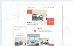 windows u0026 doors responsive website templates responsive news