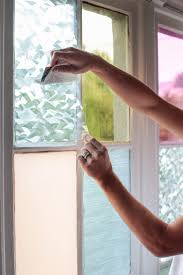 Diy Window Treatments by Gila Diy Window Film Happy Bright Pastel Emily Henderson Bamboo