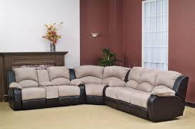 sectional sofas with recliners and cup holders tourdecarroll com