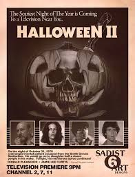 the horrors of halloween halloween ii 1981 art and print by