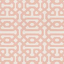Pink Trellis Curtains Pale Coral Trellis Outdoor Fabric Fretwork Cameo Loom Decor