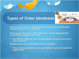 Can A Woman Be Color Blind Color Blindness B Y M A R E I M ü N S T E R M O L L Y S