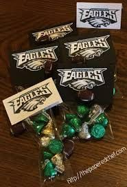 football party favors bowl football party favors go eagles the papered chef