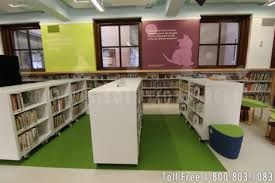 Shelves On Wheels by Cantilever Carts On Wheels Offer Libraries Movable Book Storage