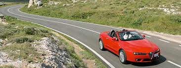 rent a in italy cimt alfa romeo spider convertible rental hire in rome italy