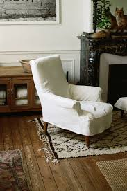 for the home u0027s main rooms slipcovers were fashioned from old