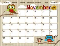 blank calendar template for kids