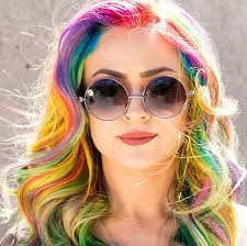 rainbow color hair ideas have you heard of unicorn hair the original mane n tail