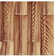 types of hair braids different ways of braiding hair
