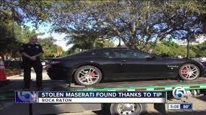 maserati camo stolen maserati found thanks to tip youtube