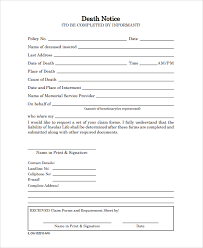 sample death obituary templates free documents download in pdf word