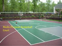 Backyard Sport Courts by A Must Know About Backyard Basketball Court Options