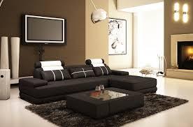canap angle noir canapé d angle en cuir 5 places mobilier privé