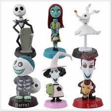 nightmare before playset 6 figure cake topper usa seller