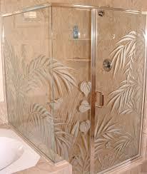 Custom Glass Doors For Showers by Custom Glass Sans Soucie Art Glass