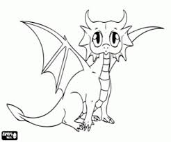baby dragon coloring pages printable coloring image