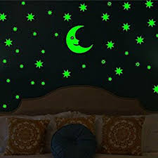 Glow In The Dark Star Ceiling by Buy Wall Whispers Sticker Moon And 69 Star Glow In The Dark