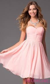 light pink graduation dresses image of short strapless sweetheart dress detail image 2 t r