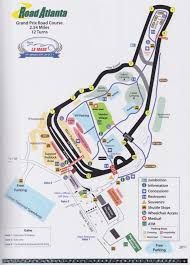 map of le mans intercontinental le mans challenge programme covers