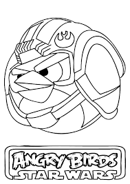 luke skywalker angry bird star wars coloring pages bulk color